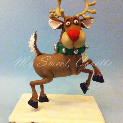 Rudolph Cake on Cake Central