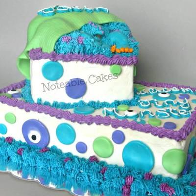 Surprising Monsters Inc Cake Decorating Photos Funny Birthday Cards Online Kookostrdamsfinfo