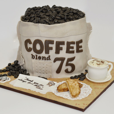 Coffee Sack Cake
