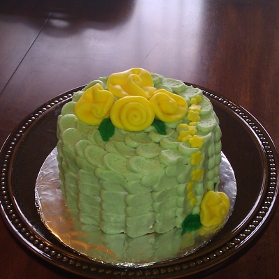 Petal Effect Birthday Cake