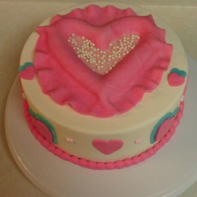 Valentine Themed Cake