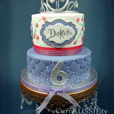 Princess Sofia The First Theme Birthday Cake