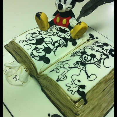 Mickey's Sketchbook