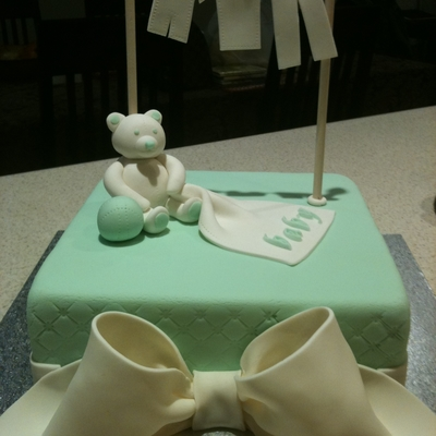 Baby Shower Teddy Bear