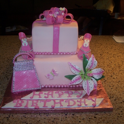 Birthday Cake - Girly Girl