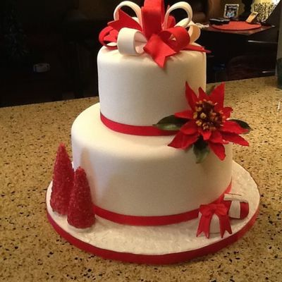 Holiday Celebration Cake