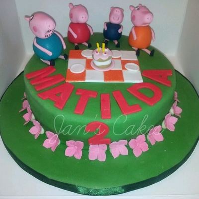 Peppa Pig 2Nd Birthday