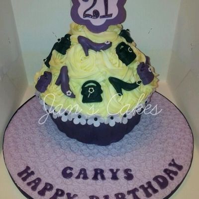 Giant Cupcake 21St Birthday