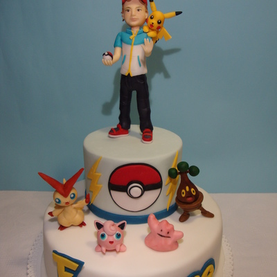 Pokemon's Cake