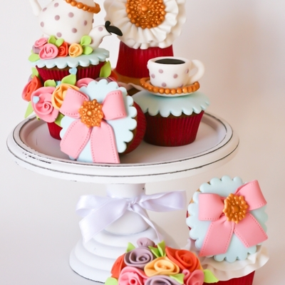 "Cupcakes ""cup Of Tea"""