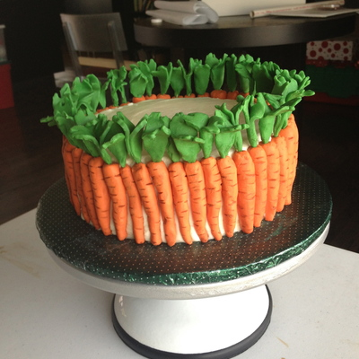 Carrot Cake For My Birthday