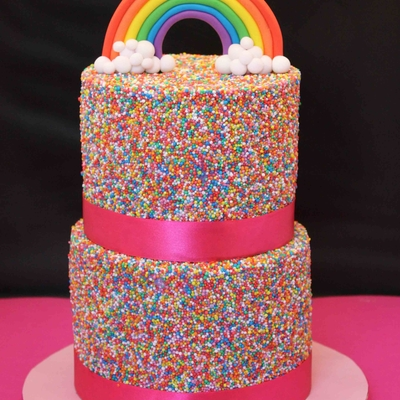 Rainbow Fun! on Cake Central