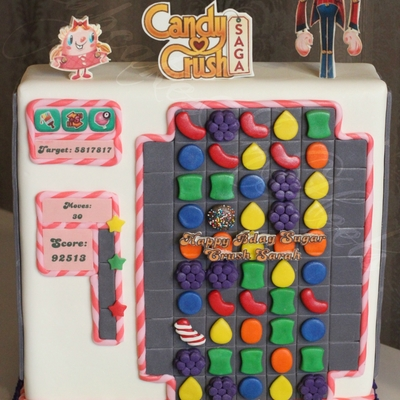 Candy Crush Saga Cake!