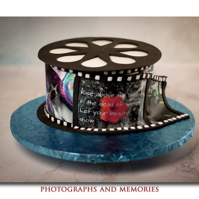 Birthday Cake For A 17 Year Old With Passion Photography