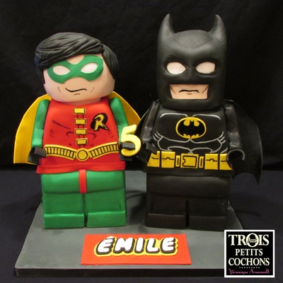 Batman And Robin Lego