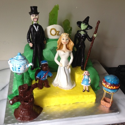 Oz The Great And Powerful Cake