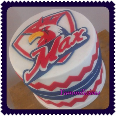Nrl Roosters Cake