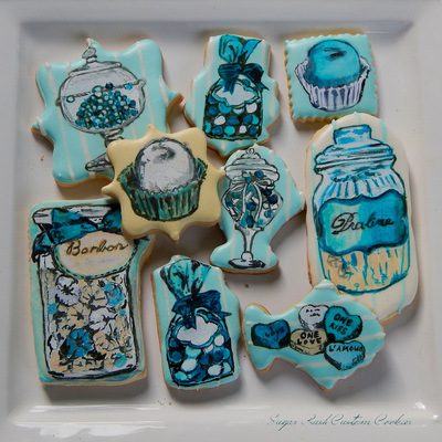 Sweet Table Themed Cookies
