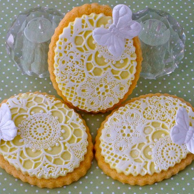 Lemon And Lace Cookies