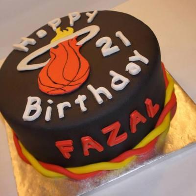 Basketball Cake Decorating Photos