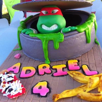 Swell Tmnt Cake Decorating Photos Birthday Cards Printable Riciscafe Filternl