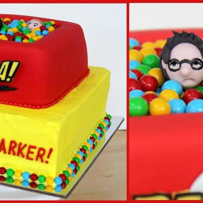 Big Bang Bazinga Cake