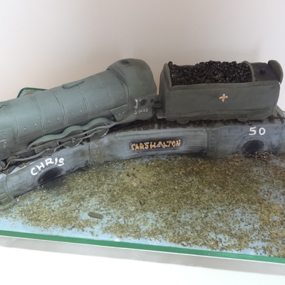Flying Scotsman 60103 Cake