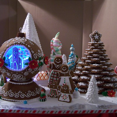 Festival Of Trees Gingerbread