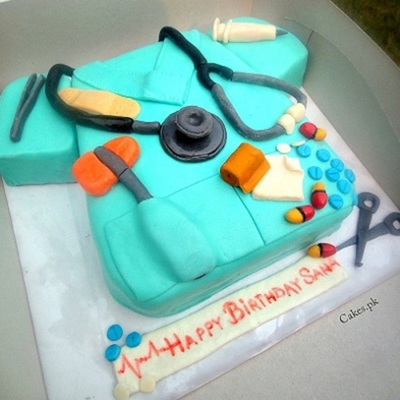 Doctor Theme Cake