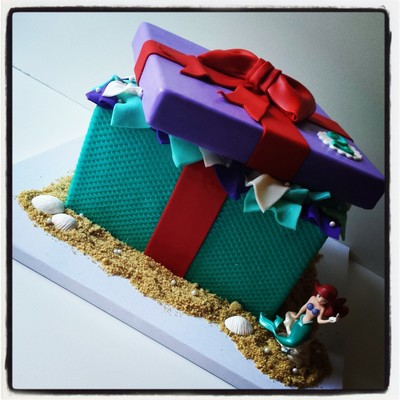 Little Mermaid / Ariel Inspired Gift Box