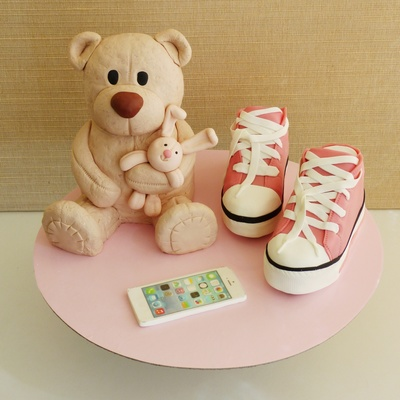 Teddy Bear, All Stars And Iphone