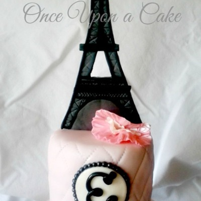 Eiffel Tower Cake!