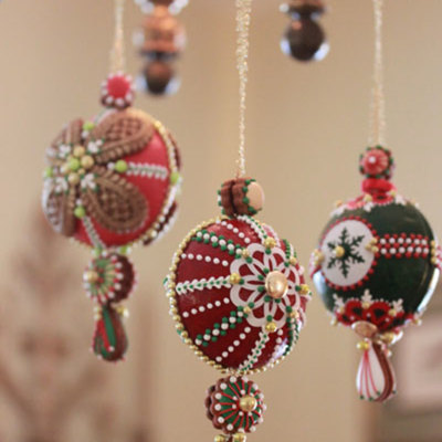 Cookie Ornaments Hanging From My Chandelier