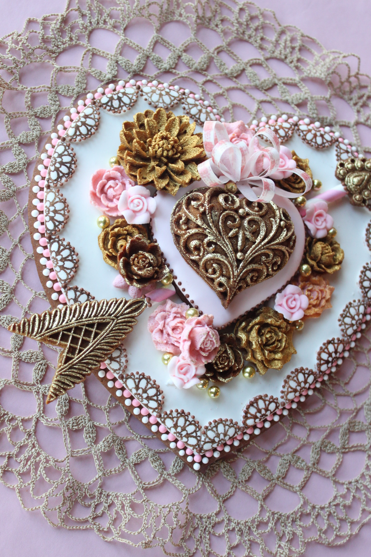 3-D Valentine Cookie