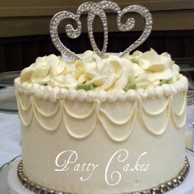 Wedding Cakes #1 - Patty Cakes on Cake Central