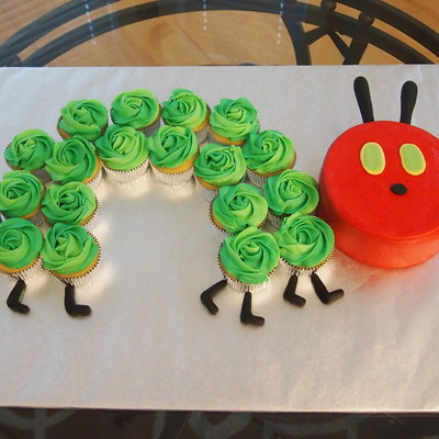 Very Hungry Caterpillar Cake