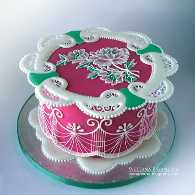 Royal Iced Cake