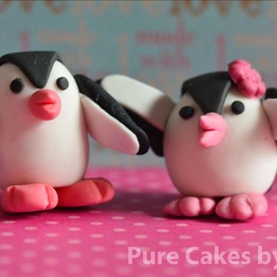 Fondant Penguins!