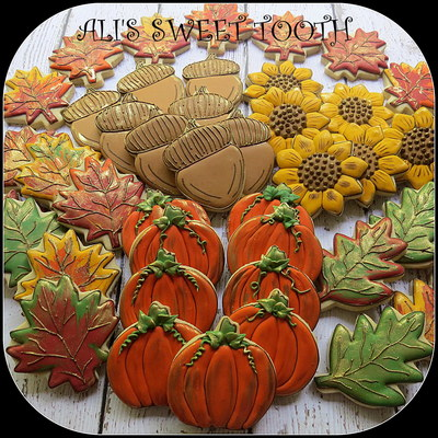 My Fall Cookies For The Go Bo Foundationo