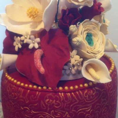 Handmade Sugar Flowers on Cake Central