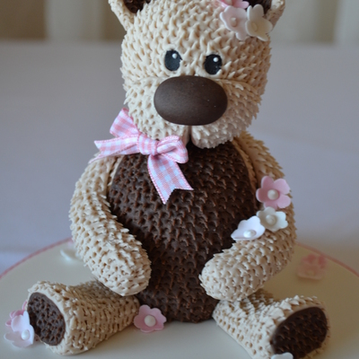 Cute Teddy Bear Cake Topper!