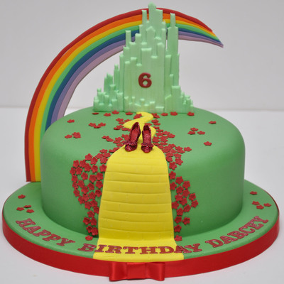 Wizard Of Oz Cake By Finesse Cakes