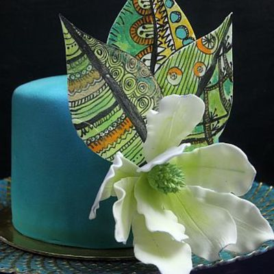 Tifany Zentangle Cake