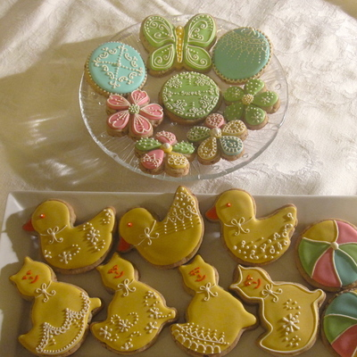 Fun And Colorful Cookies