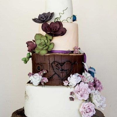 Woodland Theme Wedding Cake!