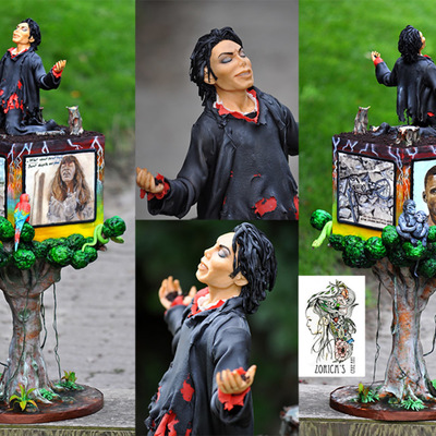 This Is My Contribution For The History Told In Cake Collaboration For Michael Jackson Birthday I Chose Earth Song As It Has A Very Powe