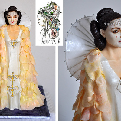 Queen Amidala/ Star Wars Cake