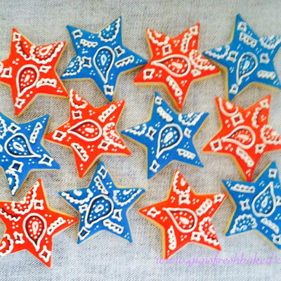 Bandana Star Cookies!