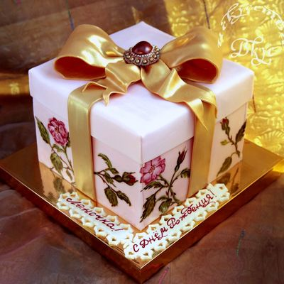 a wedding cake recipe top gift box cakes cakecentral 10978