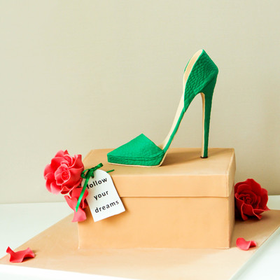 Emerald Green High Heel